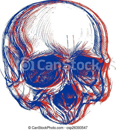 cranio, 3d - csp26393547