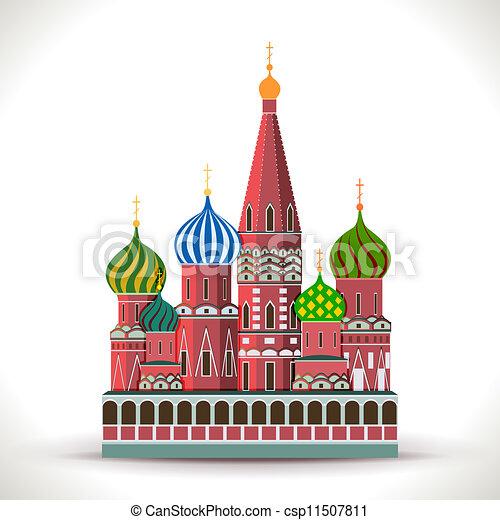 cremlino, mosca - csp11507811