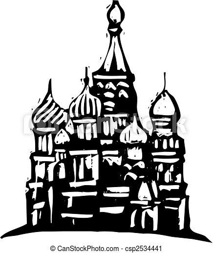 cremlino, russia - csp2534441