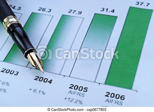 crescita, vendite - csp0677803