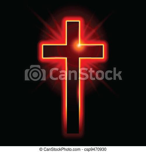 cristiano, simbolo, crocifisso - csp9470930