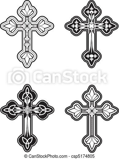 croce celtica - csp5174805