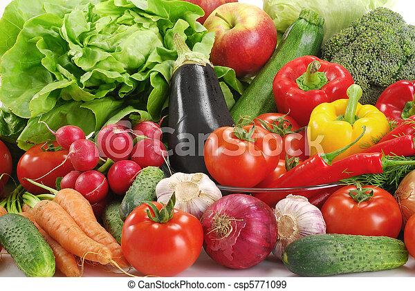 crudità verdure crude, varietà - csp5771099
