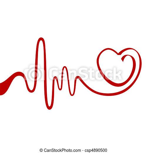 cuore, astratto - csp4890500