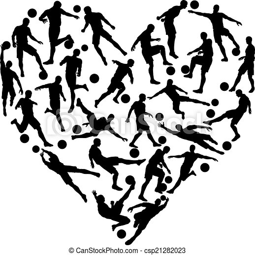cuore, football calcio - csp21282023