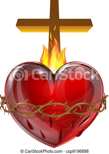 cuore, sacro - csp9196898