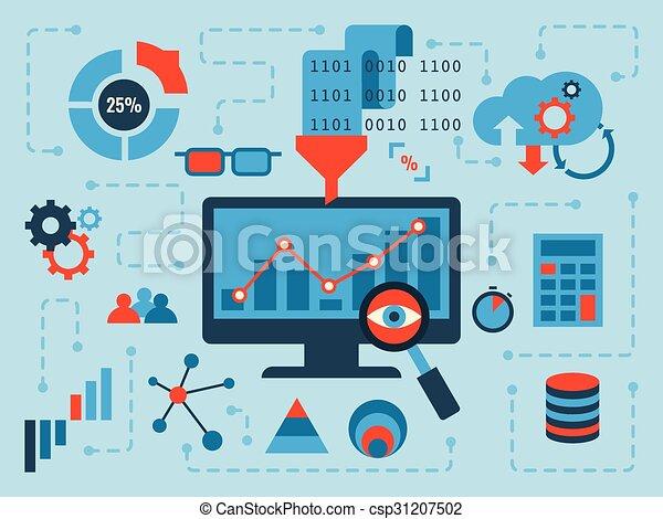 dati, analisi - csp31207502