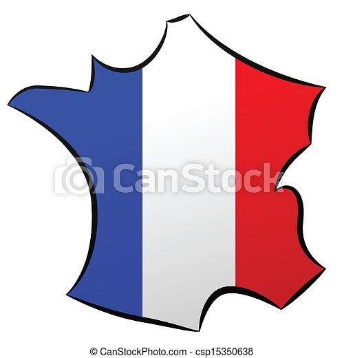 de, menu, francia - csp15350638