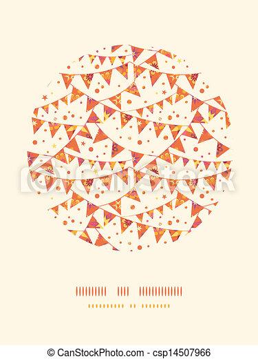 decorazione, motivi dello sfondo, bandiere, decorazioni, textured, cerchio, natale - csp14507966