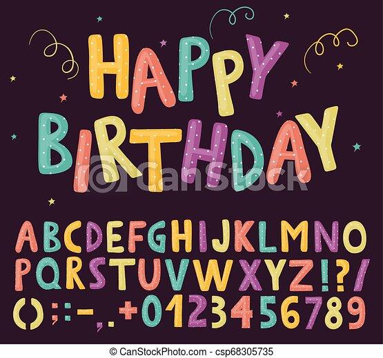 divertimento, alfabeto, colorito - csp68305735