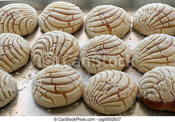dolce, spagnolo, bread - csp0052637