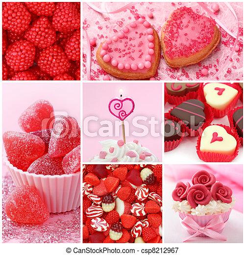 dolci, giorno, valentine - csp8212967