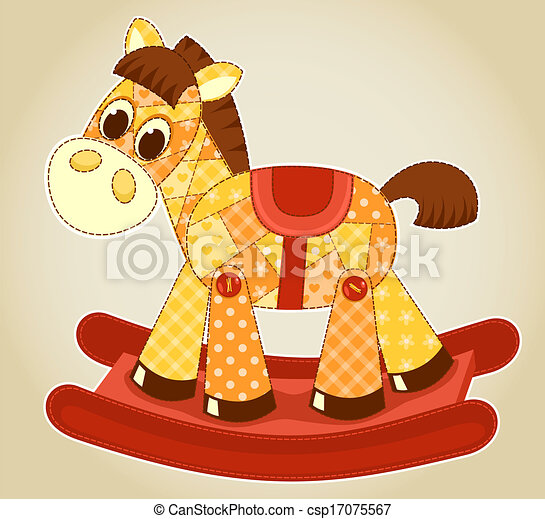 domanda, cavallo a dondolo - csp17075567