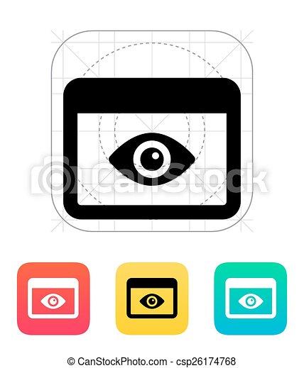domanda, controllo, icon. - csp26174768