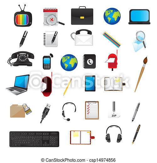 domanda, icone - csp14974856