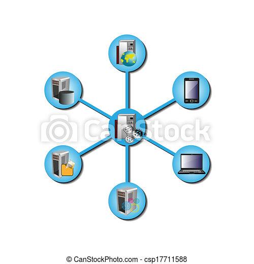 domanda, impresa, integrazione - csp17711588