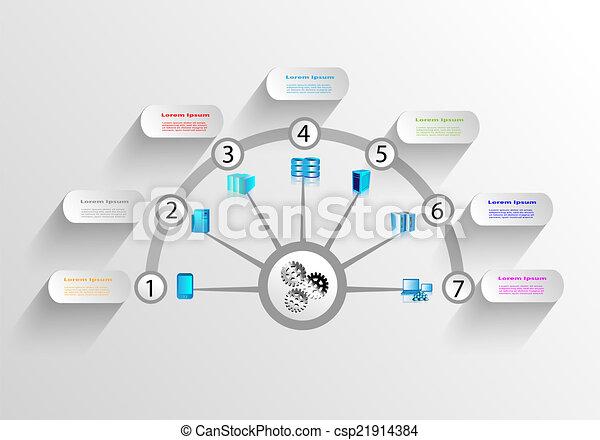 domanda, impresa, integrazione - csp21914384