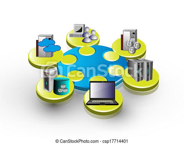 domanda, integrazione, impresa - csp17714401