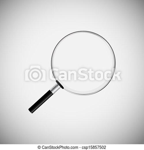 domanda, ricerca, legno, icone - csp15857502