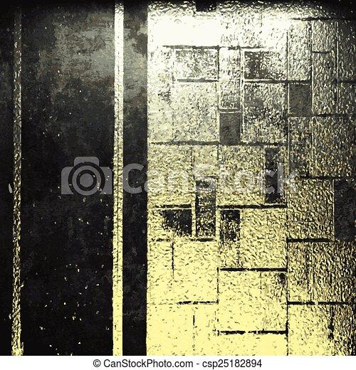 dorato, pietra, vettore, lusso, fondo - csp25182894