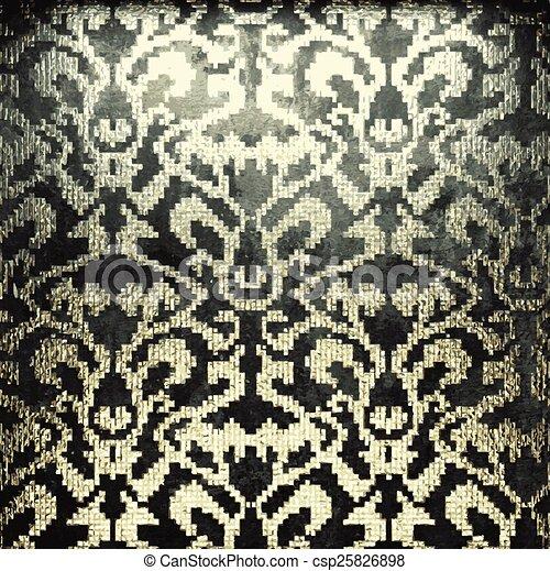 dorato, pietra, vettore, lusso, fondo - csp25826898