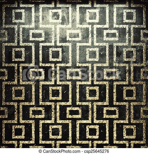 dorato, pietra, vettore, lusso, fondo - csp25645276