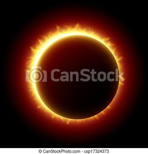 eclissi, solare - csp17324373