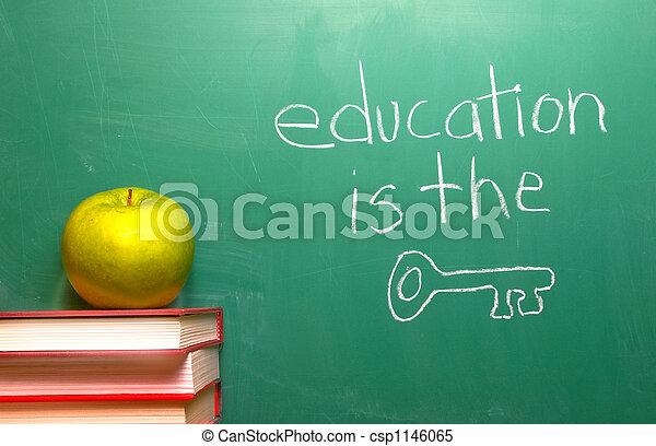 educazione, chiave - csp1146065