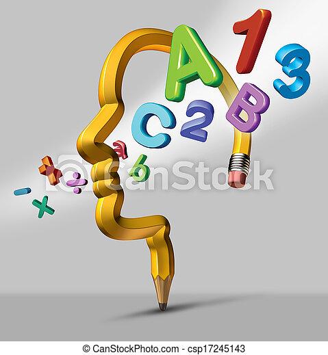 educazione, cultura - csp17245143