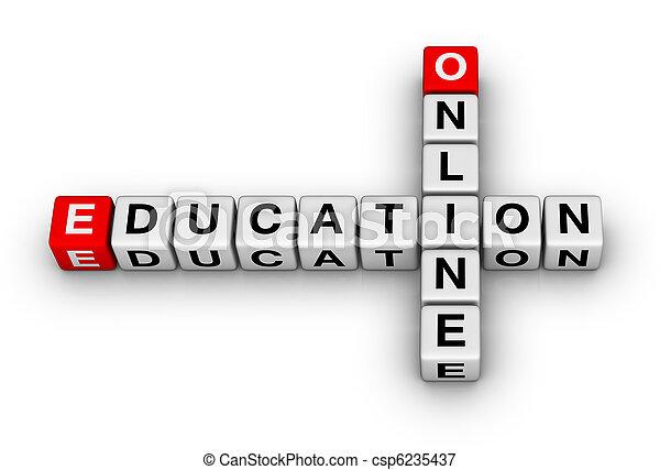 educazione, linea - csp6235437