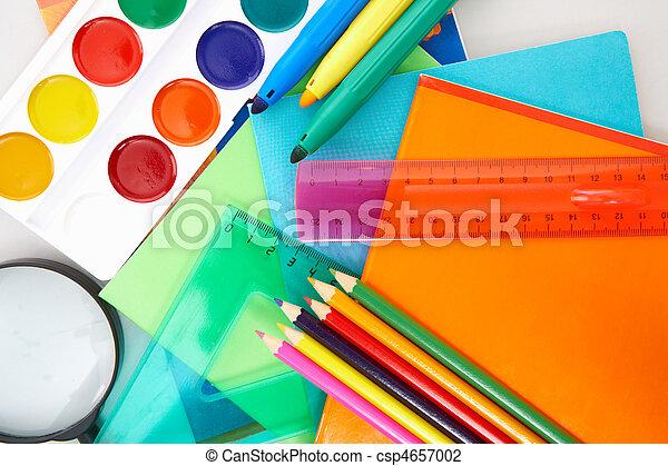 educazione, oggetti - csp4657002