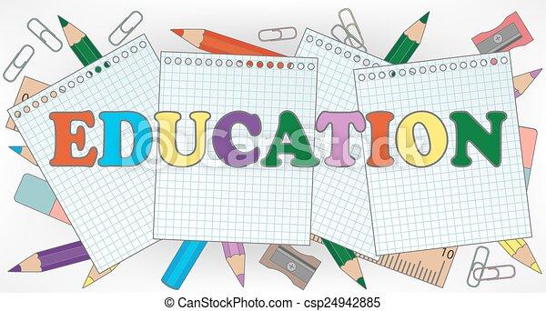 educazione - csp24942885