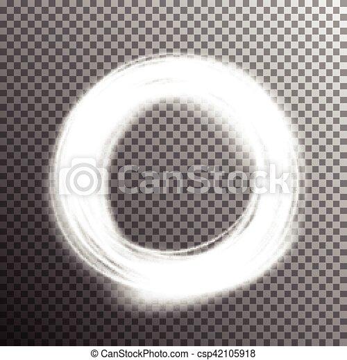 effetto leggero, speciale, bagliore - csp42105918
