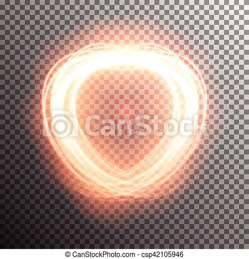 effetto leggero, speciale, bagliore - csp42105946