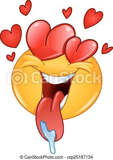 emoticon, amore - csp25187134