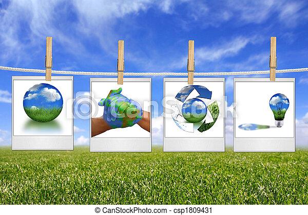 energia, soluzione, corda, verde, appendere, immagini - csp1809431