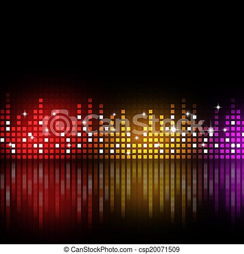 equalizzatore, multicolor - csp20071509