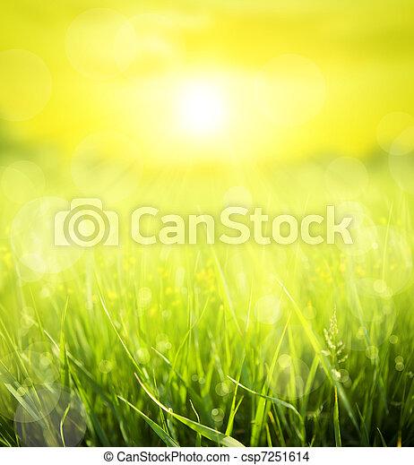 estate, fondo, astratto - csp7251614