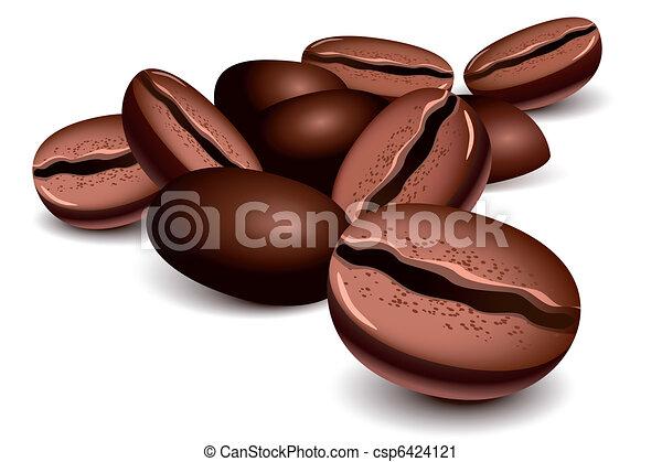fagioli caffè - csp6424121