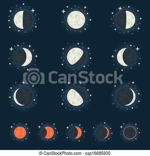 fase, luna - csp16685930