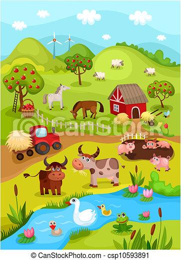 fattoria, scheda - csp10593891