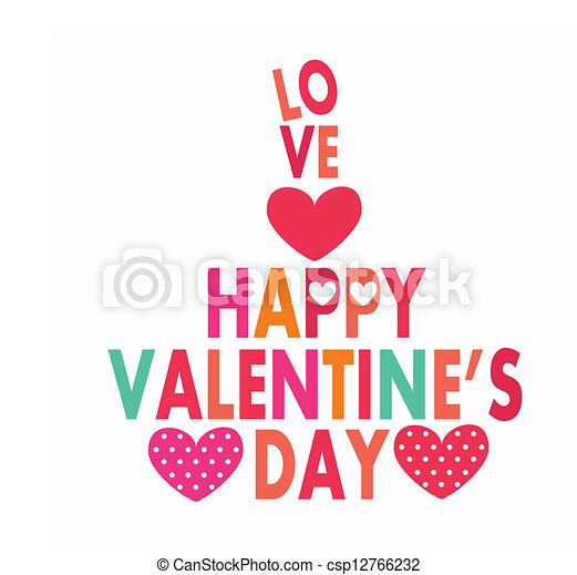 felice, giorno, valentine - csp12766232