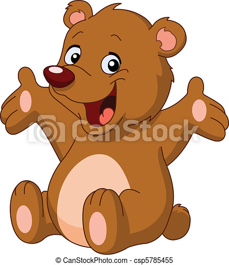 felice, orso, teddy - csp5785455