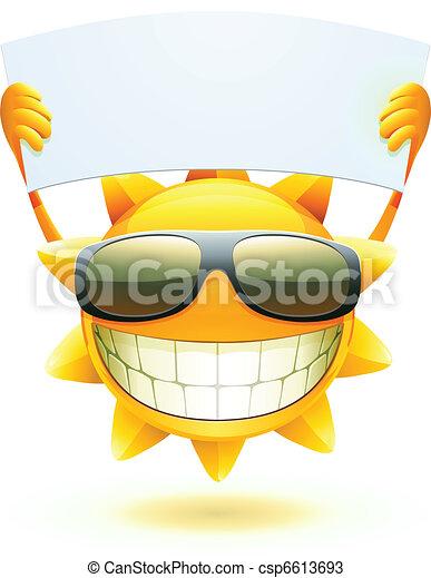 felice, sole, estate - csp6613693