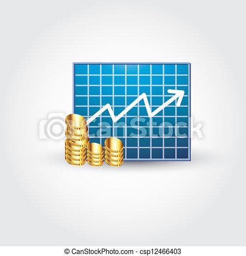 finanza, asse - csp12466403