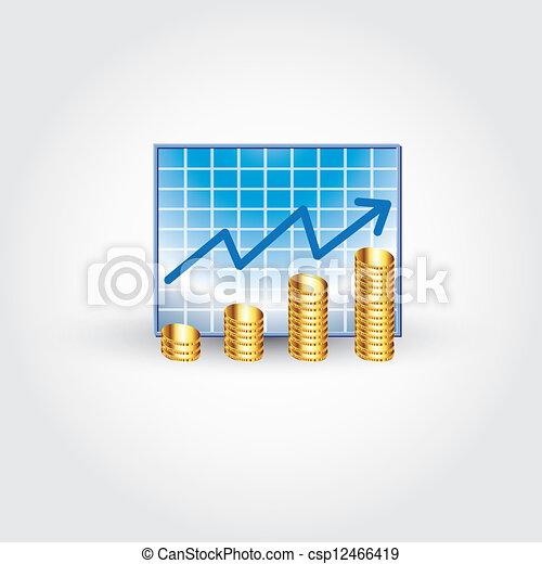 finanza, tabelle - csp12466419