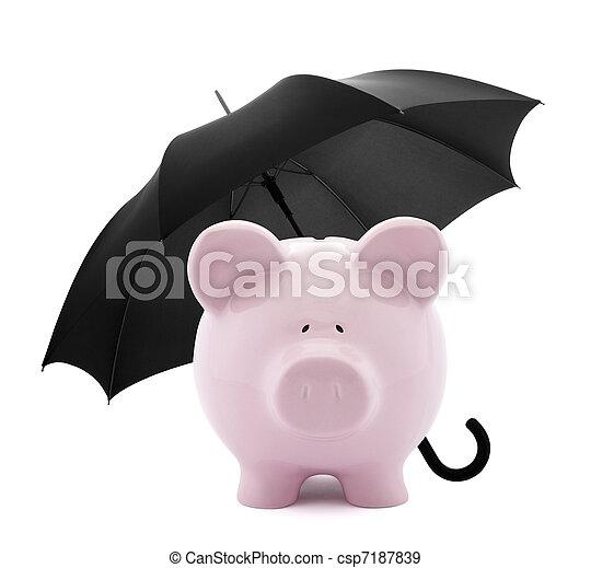 finanziario, assicurazione - csp7187839