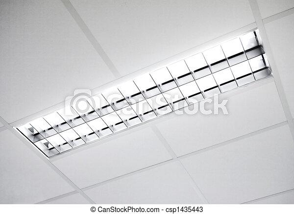 fluorescente, infisso, luce - csp1435443