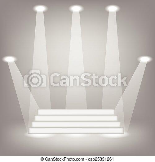 fondo, luce - csp25331261