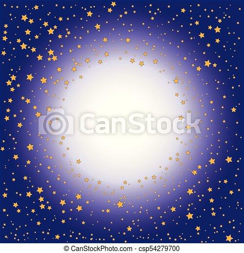 fondo, oro, pendenza, (purple), stelle, viola - csp54279700